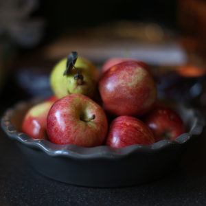 It Is Essential To Gather All The Needed Ingredients Before Beginning This Recipe. It's Best To Use Tarter Apples And Of Course, Ripe Pears!