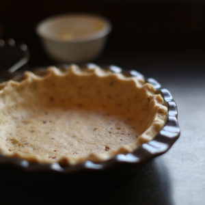Pat The Crust Into Your Pie Pan And Pinch The Edges To Your Desired Effect.
