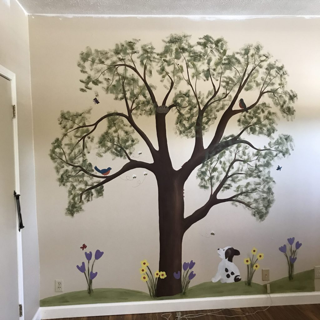 The Previous Wall-painting.