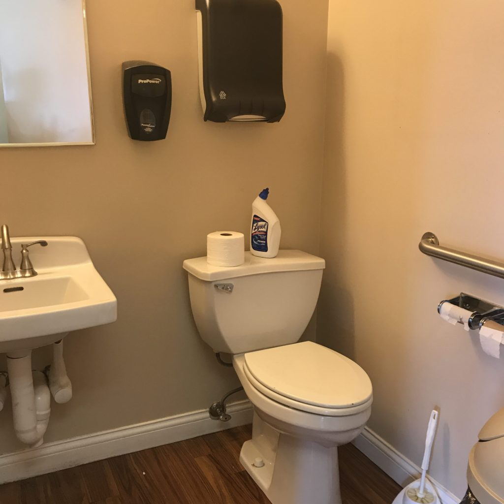 The Previous Restroom