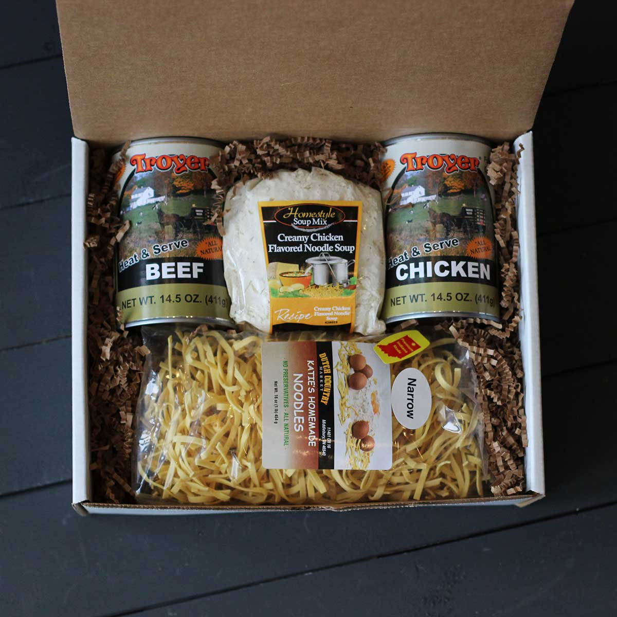 Amish Kettle Gift Box