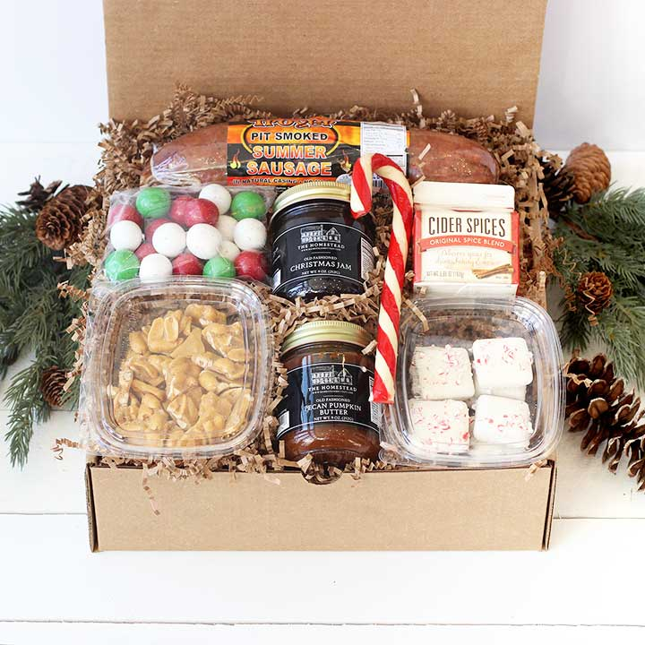 Home For The Holiday Gift Box