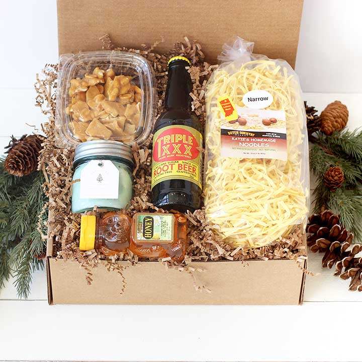 Hoosier Hospitality Holiday Gift Box